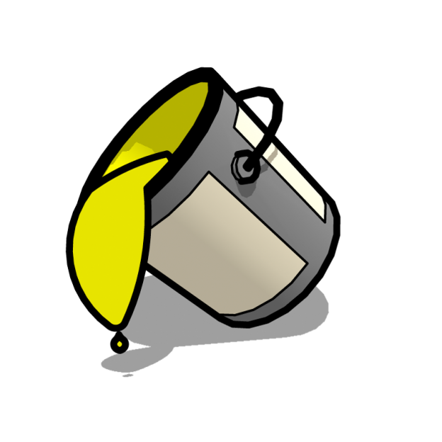 Paint Bucket Tool Tips A2 Sketchup